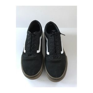 Vans Era Youth lace up Size 6 Black and white